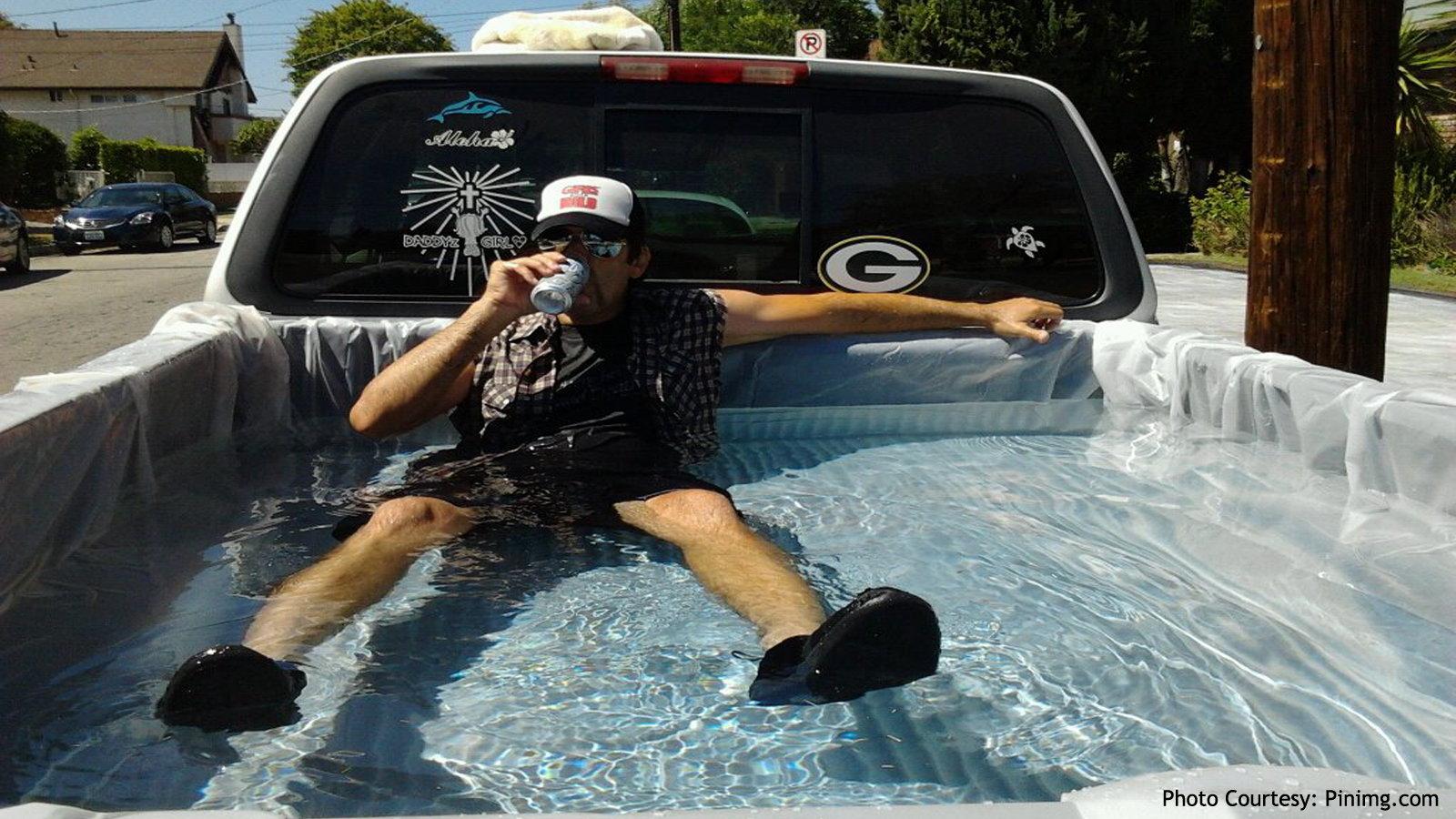 Pool on Wheels