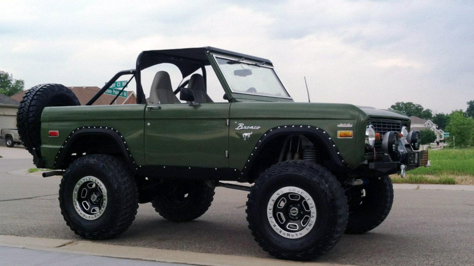 1970 Bronco - Bring-em Back Olive