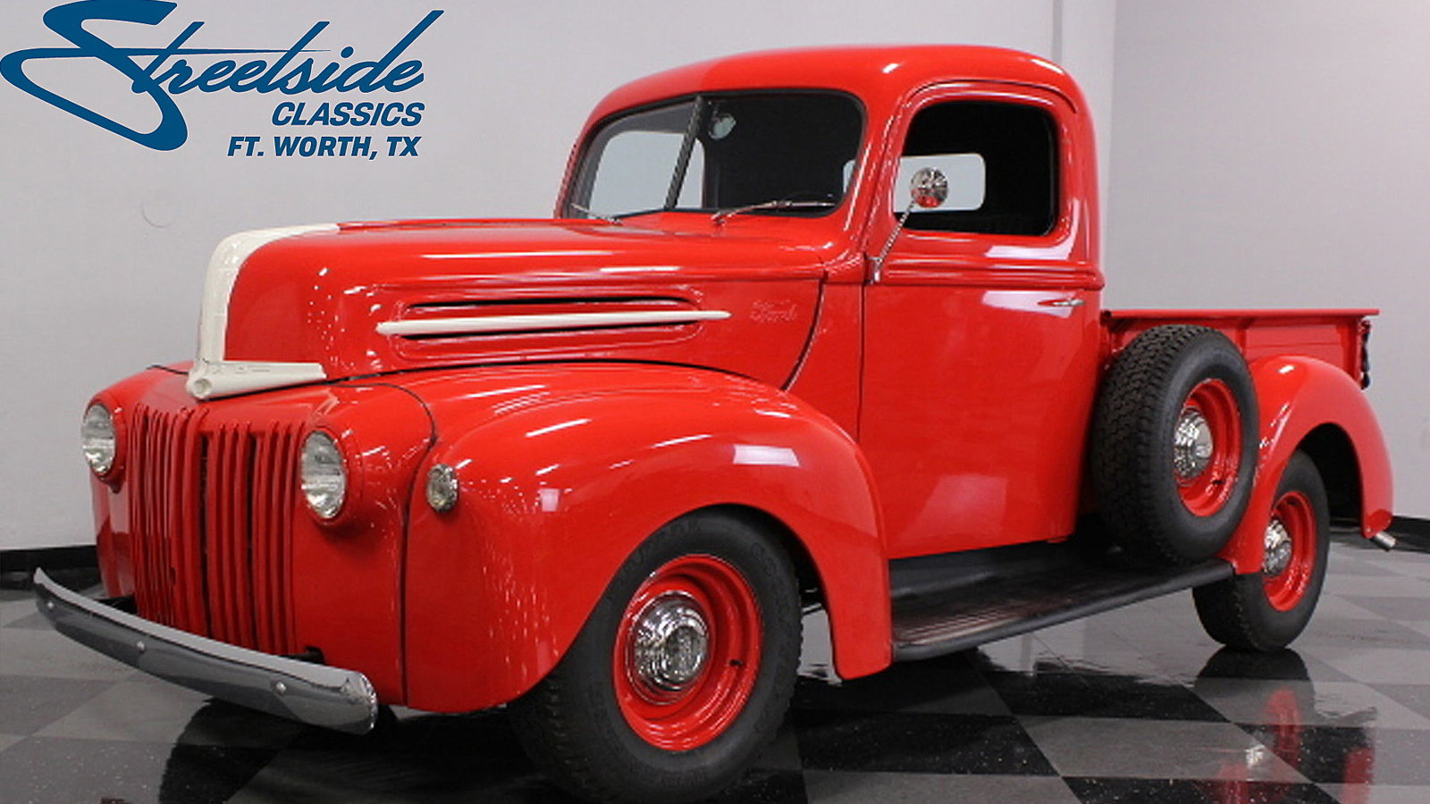 1945 Ford Pickup Shows Off its Wartime DNA