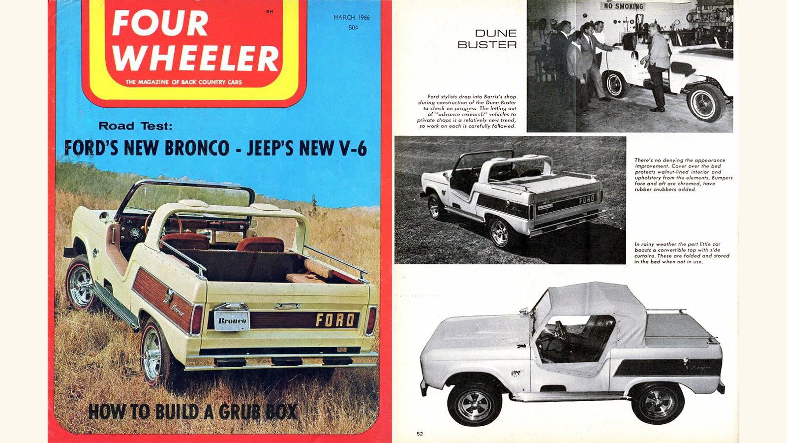 Ford Designed Barris Show Car