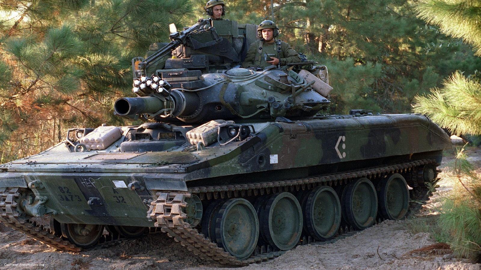 M551 Sheridan Tank
