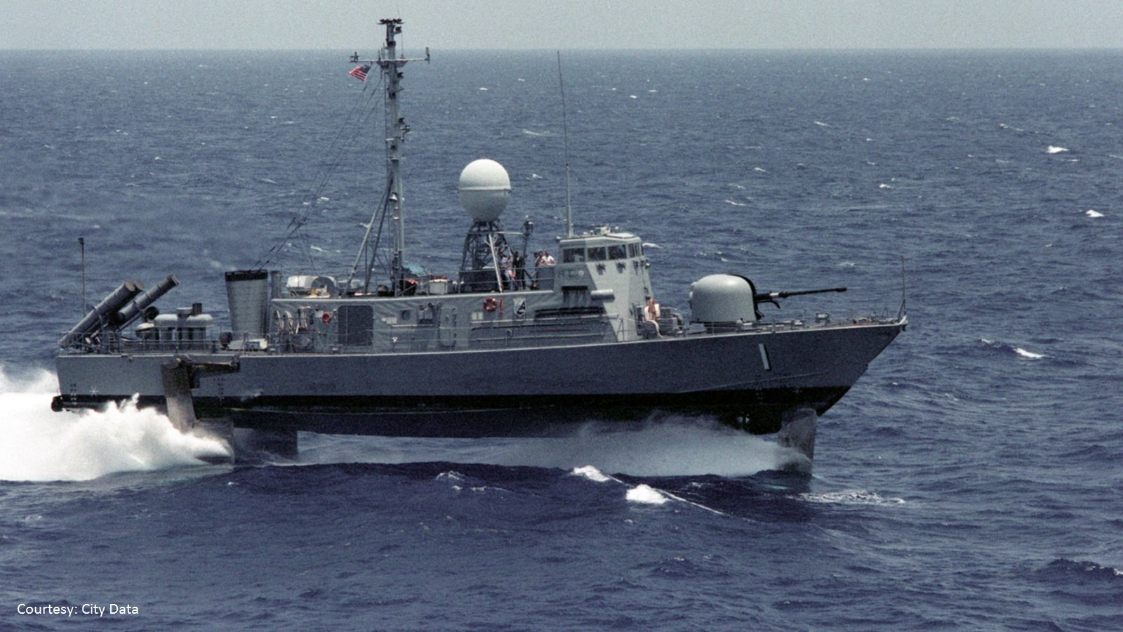 Navy Hydrofoil