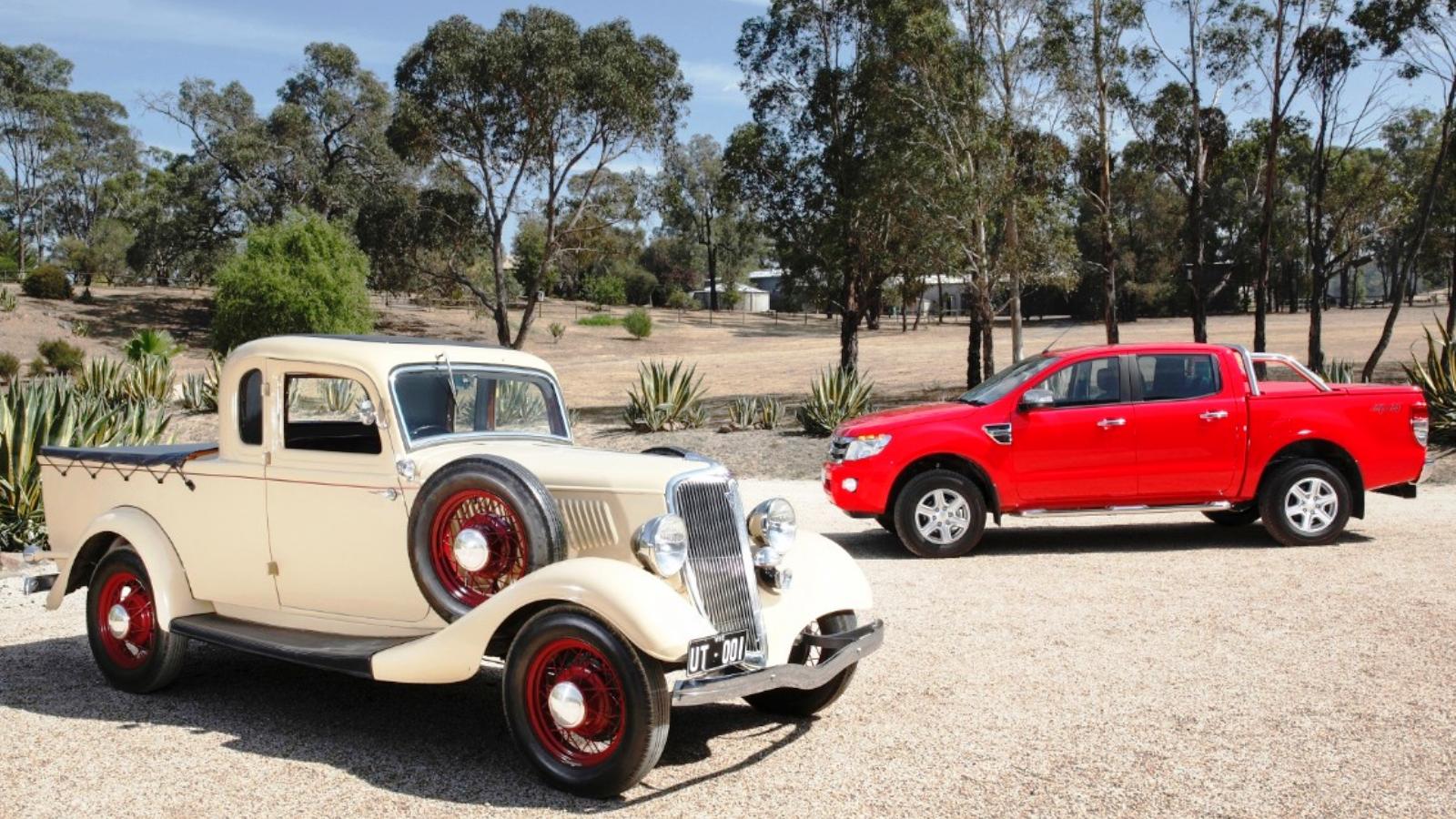 1934-56 Ford Australia Utes