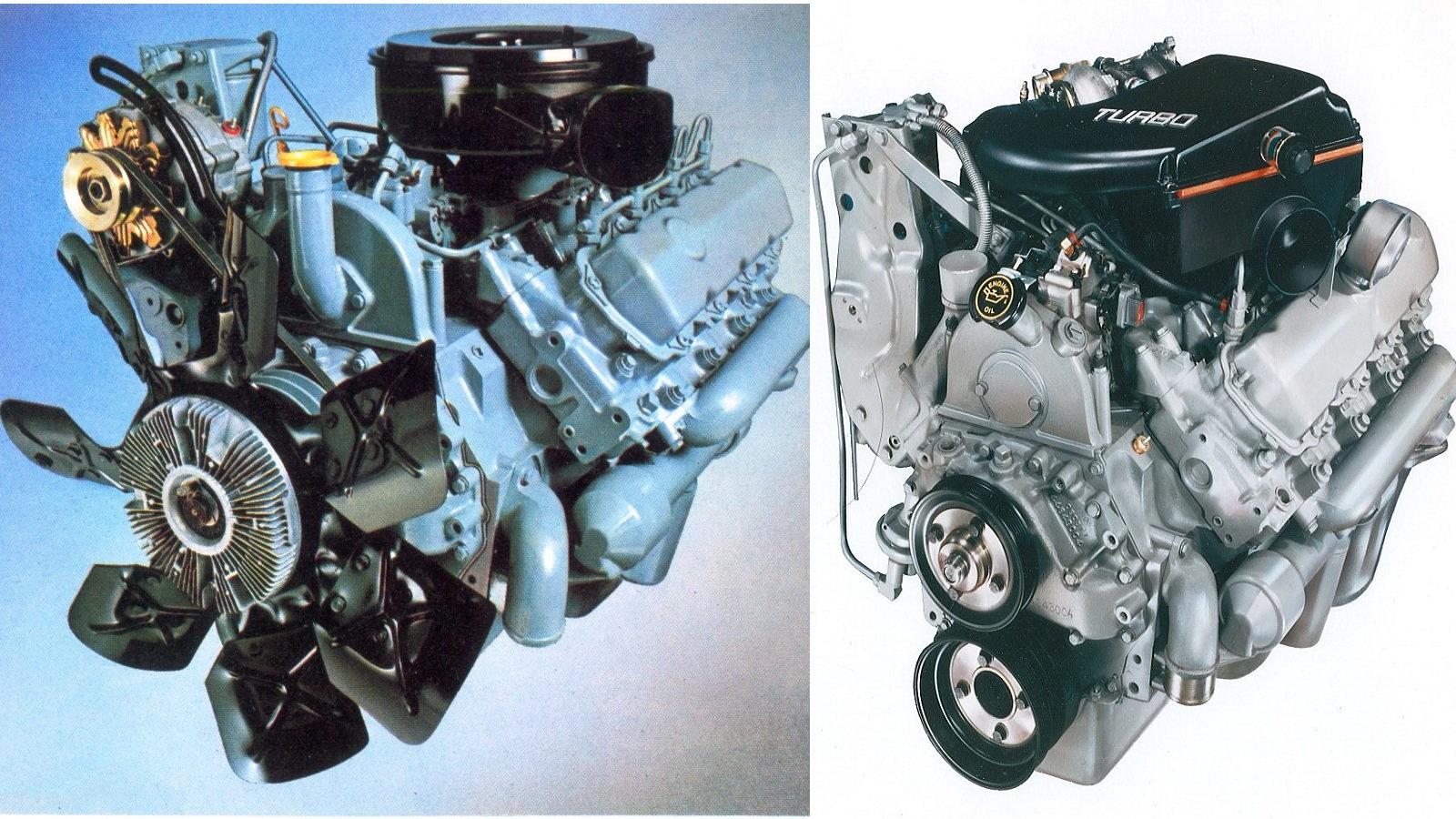 6. Ford IDI 6.9/7.3 Liter Diesel
