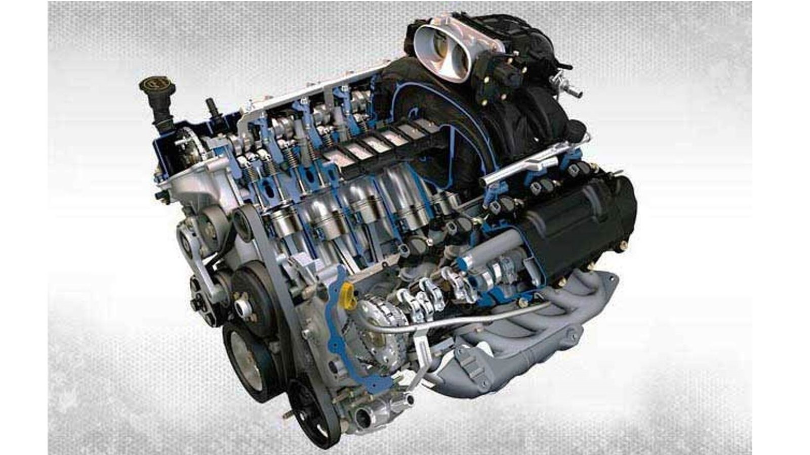 7. Ford 6.8 Liter V-10 Mod Motor
