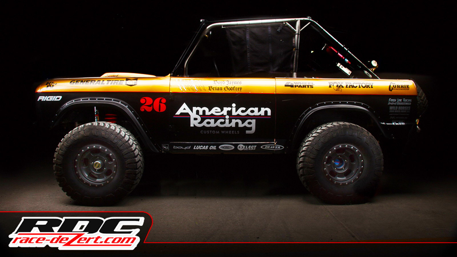 Devilish 1968 Ford Bronco Runs Loose in Off-Road Motorsports