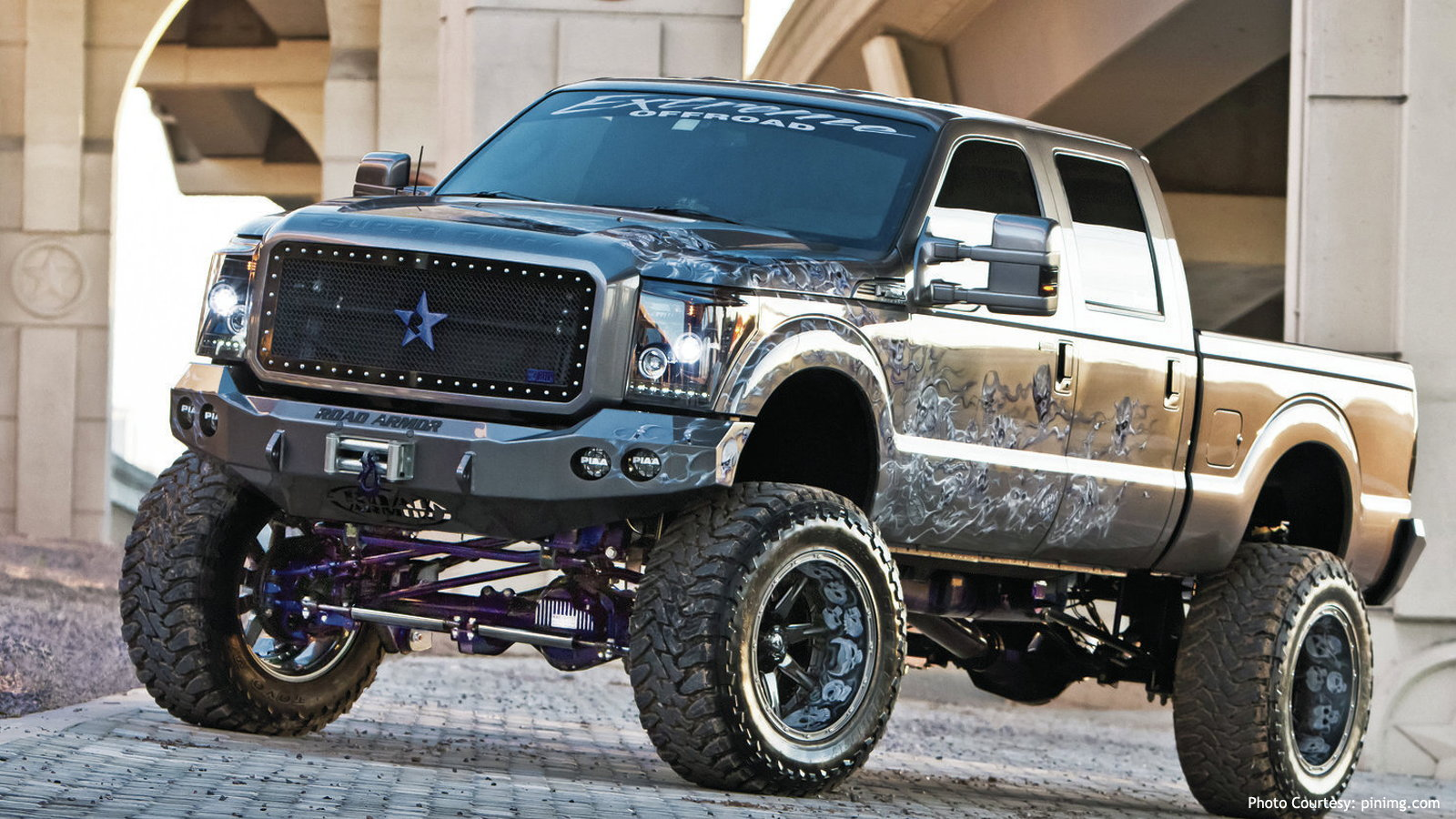 F-250 Super Duty Four Horsemen of the Apocalypse