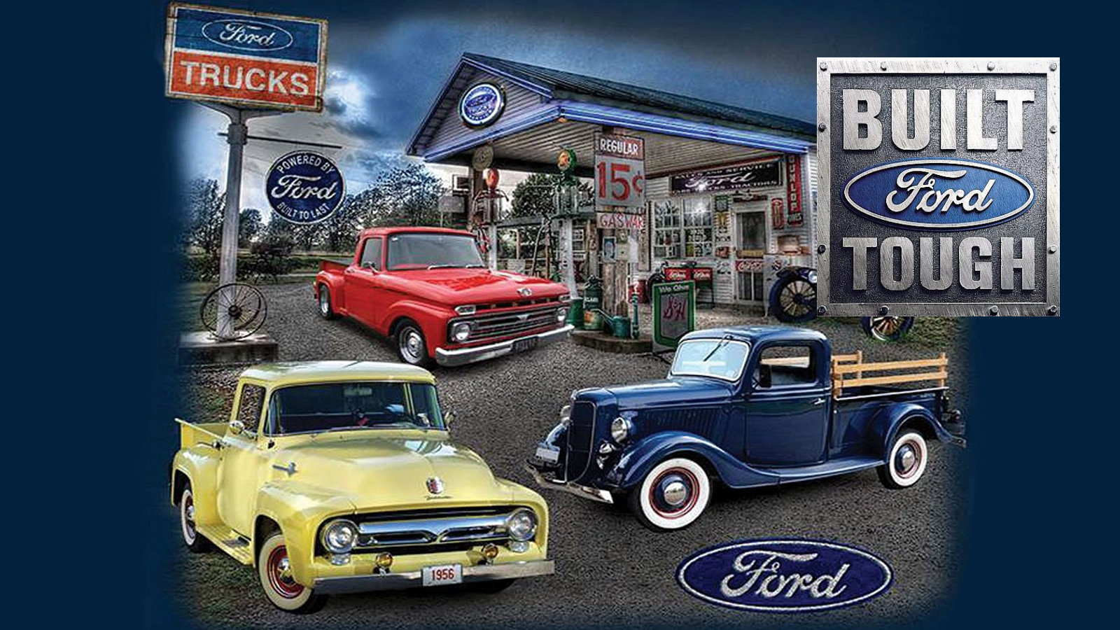 Ford Trucks that were Built to Outlast