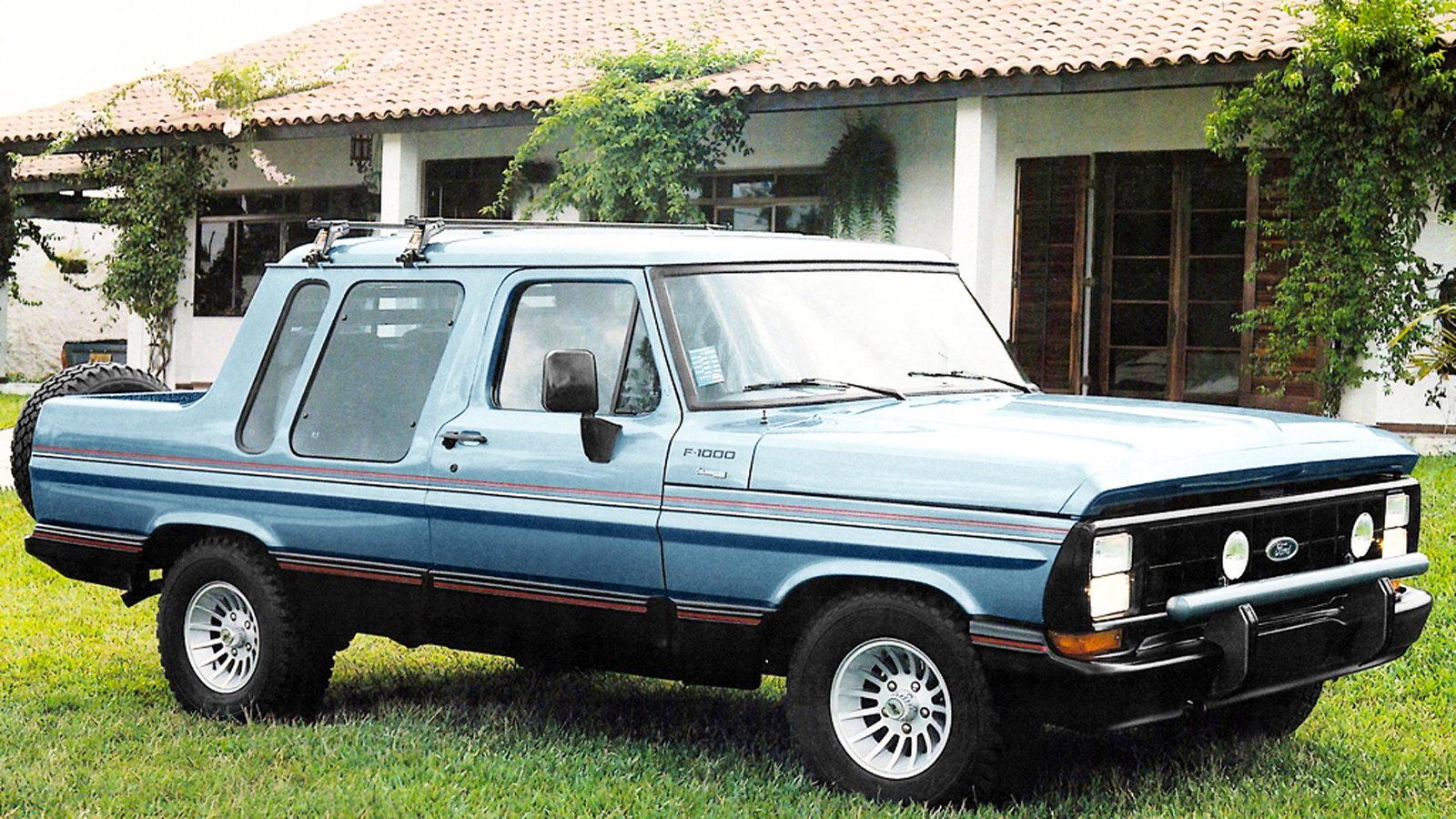 Ford F-1000 - Brazil