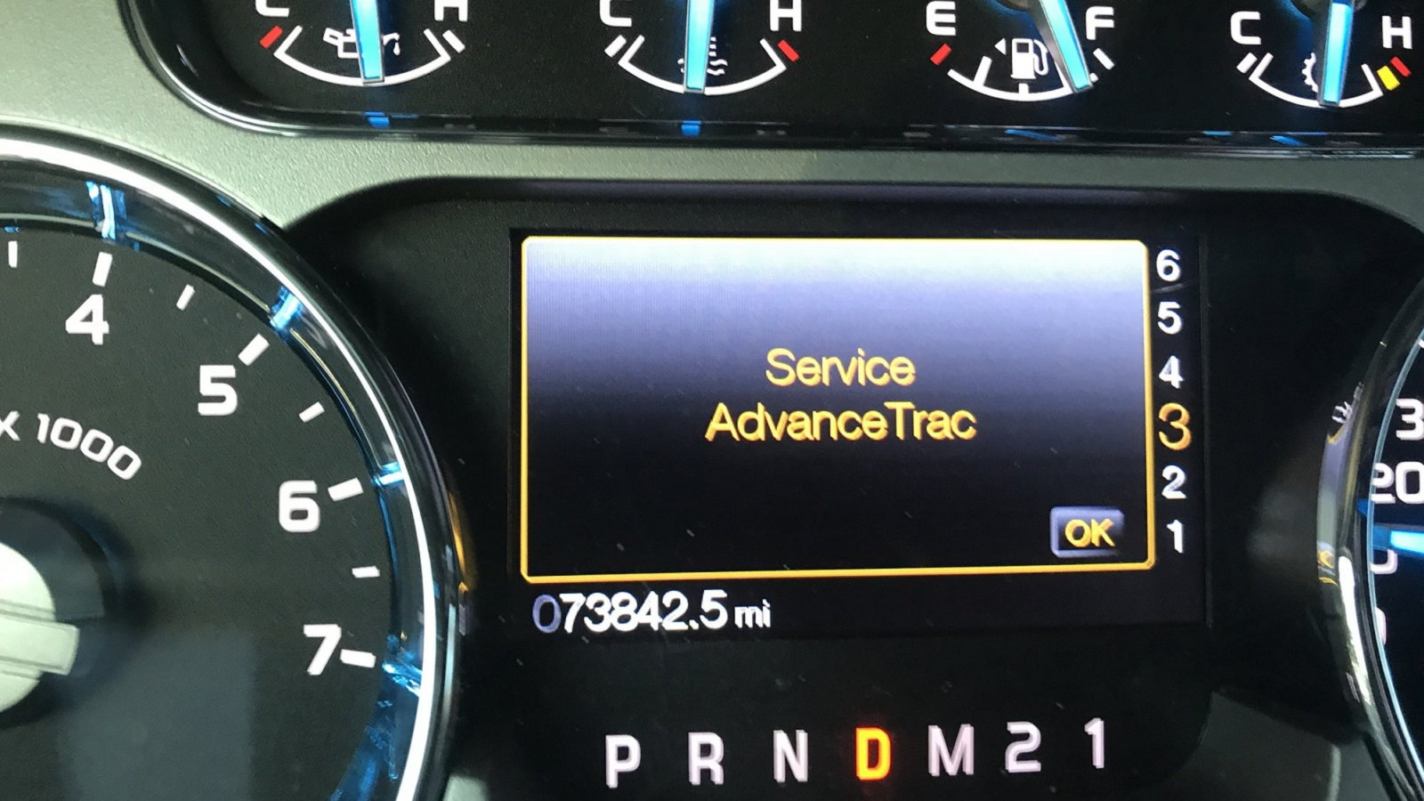 Ford F Series Why Am I Getting Service Advancetrac Message Ford Trucks