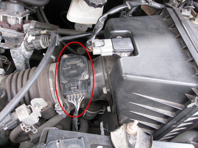 Ford F150 F250 Clean Faulty Mass Airflow Sensor How To
