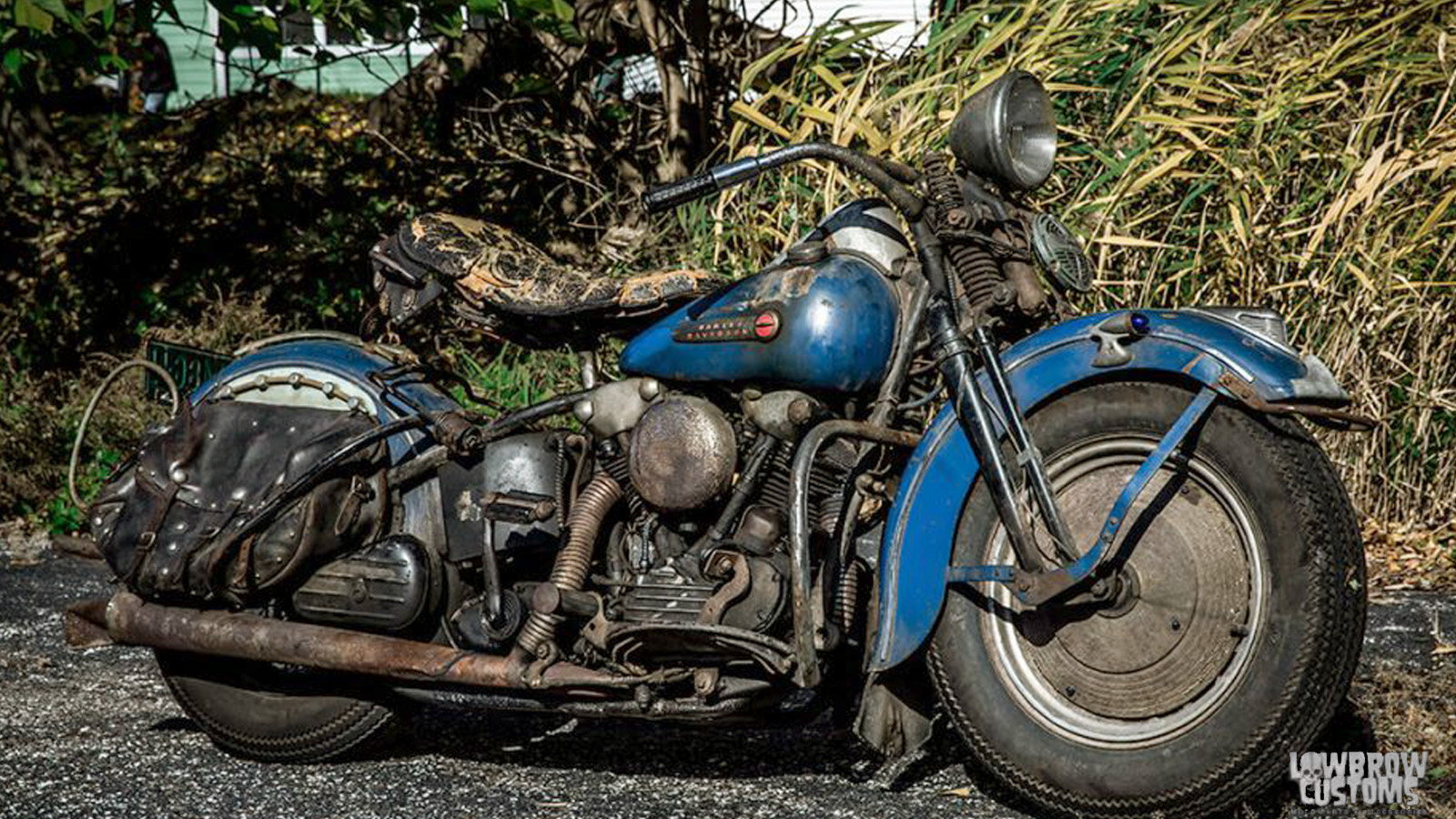 Billy Balcer's Factory Original 1947 Knucklehead