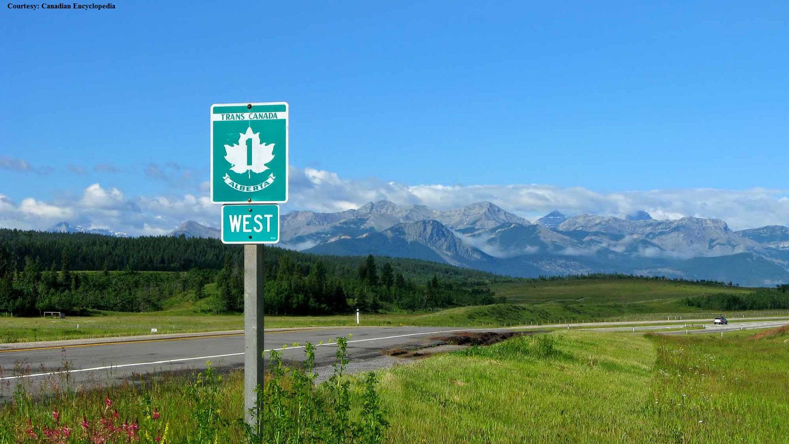 Trans-Canada Highway is a Biker's Dream