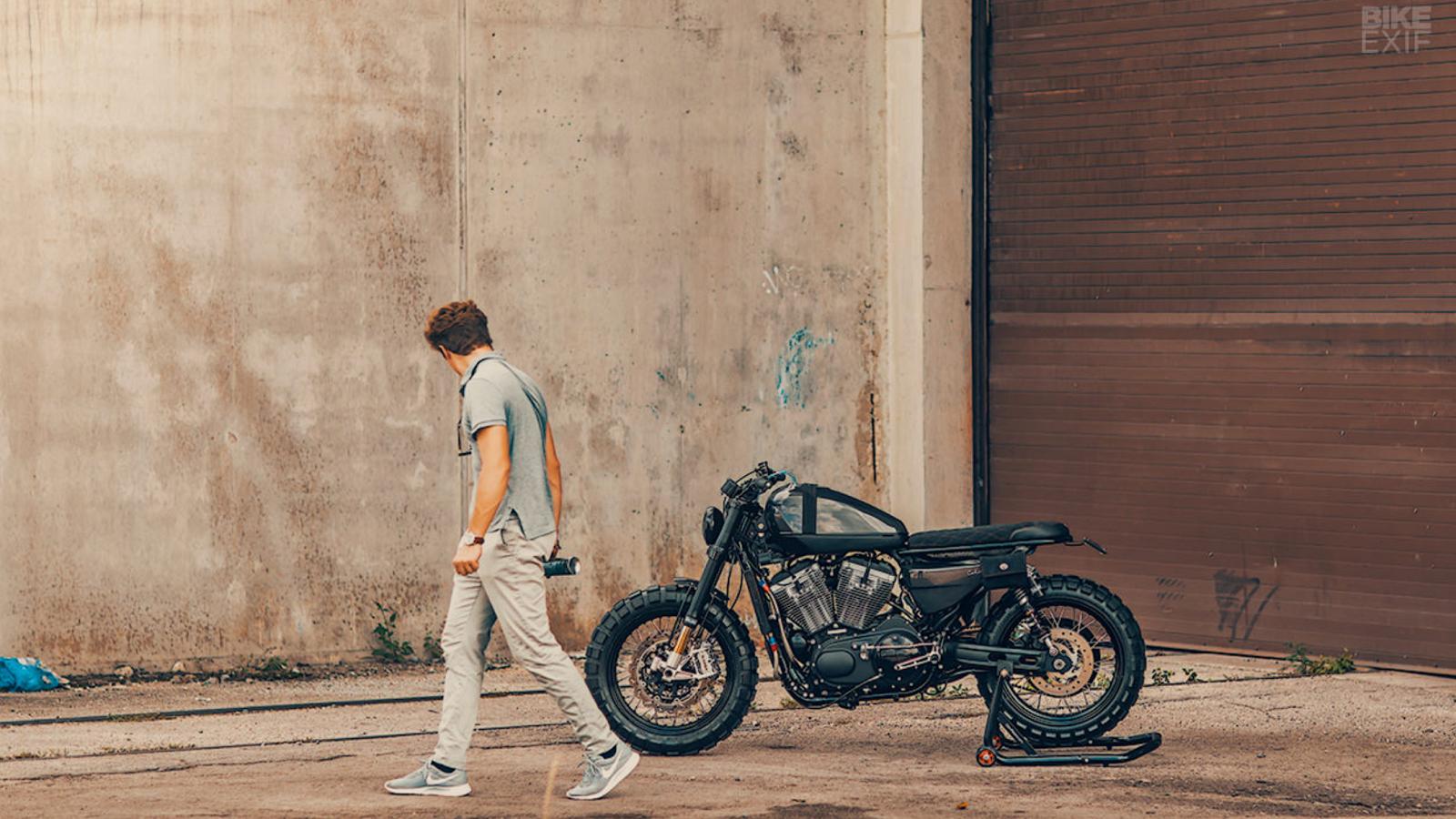 Harley XR1200X Sportster Built to Sling Dirt