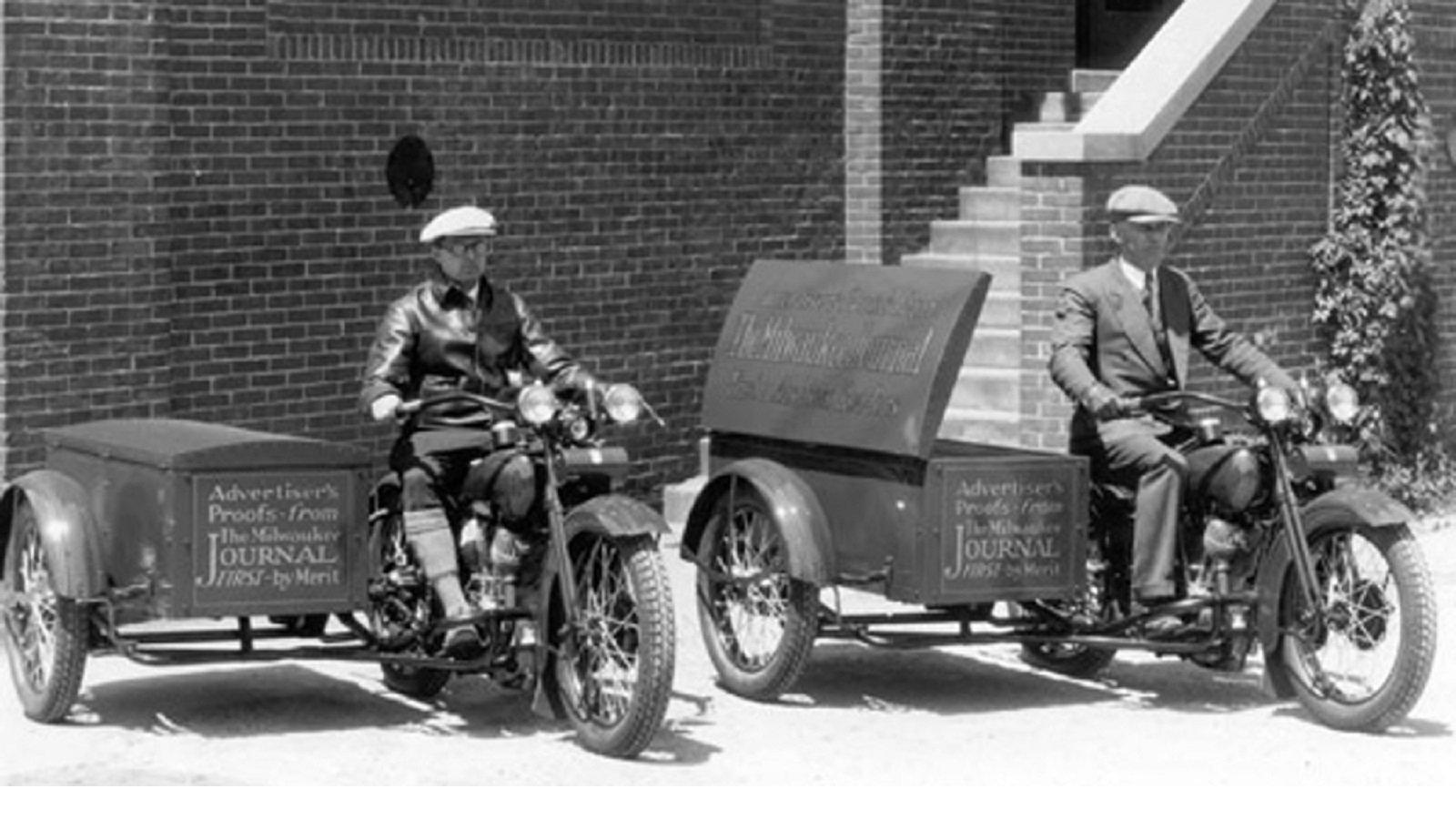 1929 Harley Package Truck