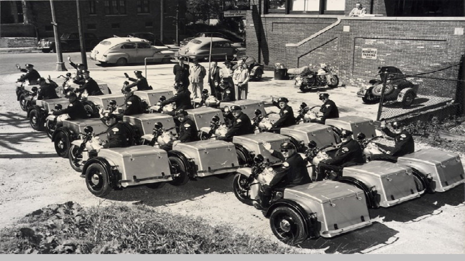 1951 Chicago Police Fleet