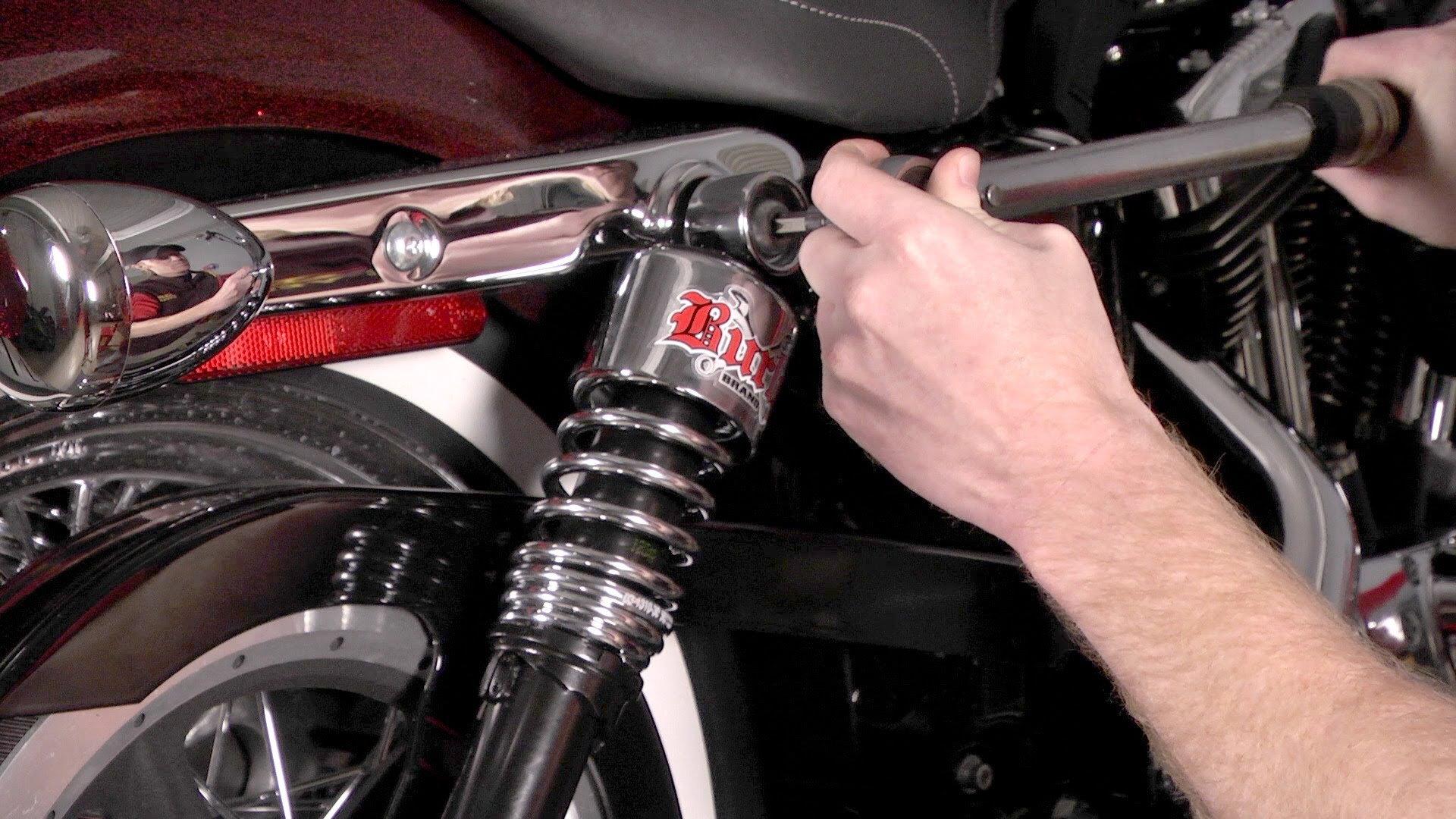Harley Touring Shock Bolt Size