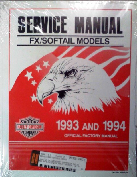 Harley factory service manual
