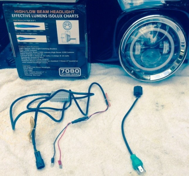 Harley Davidson Touring How to Install Halo Headlights - Hdforums