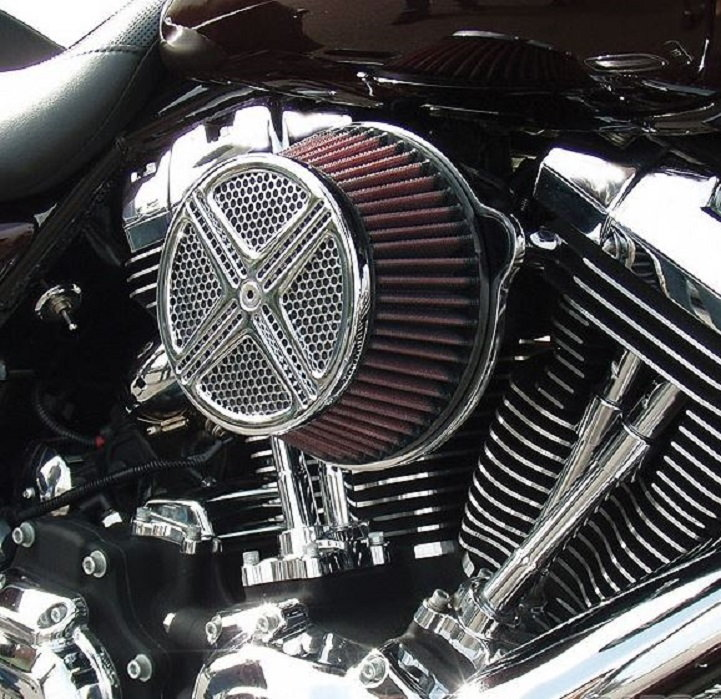Army Motorcycle Custom Air Cleaners : Harley davidson touring top performance modifications