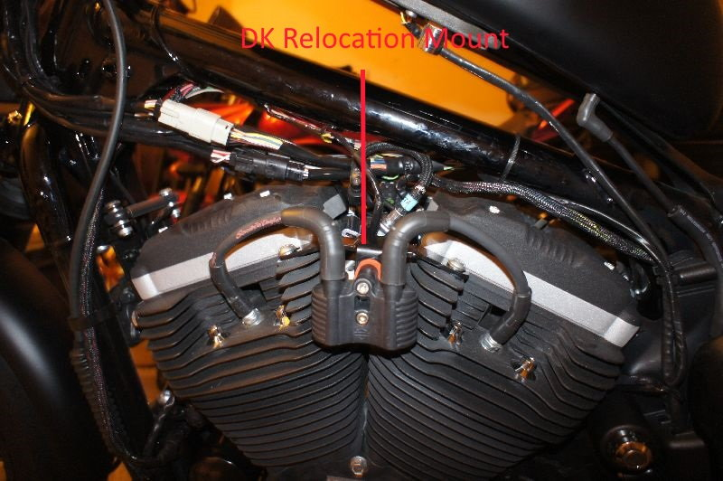 harley davidson gas tank wiring how to install dk coil   ignition relocation kit on sportster  dk coil   ignition relocation kit