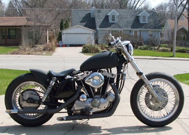 Harley Davidson Sportster How To Convert Stock Sportster