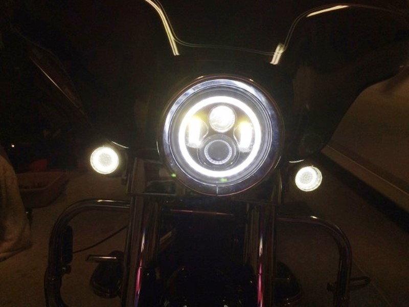 Harley Davidson Touring How To Install Halo Headlights