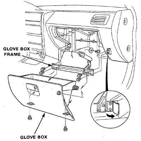 Honda Accord How To Replace Blower Motor Assembly 375991 on 2003 honda element fuse box diagram