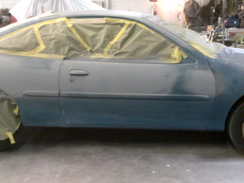 Vehicle Getting Prepared For 5000 Paint Job