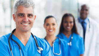 working in healthcare