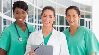 Three nurses.
