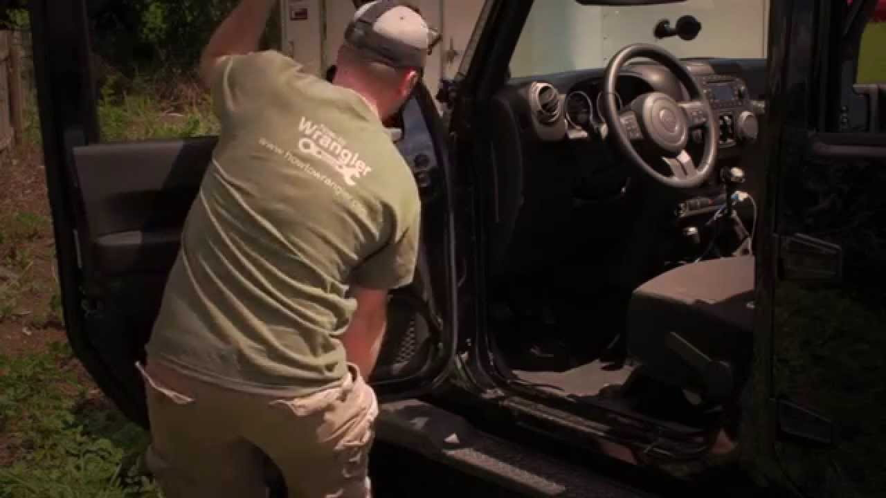 Jeep Wrangler Jk 2007 To Present How To Remove Doors On