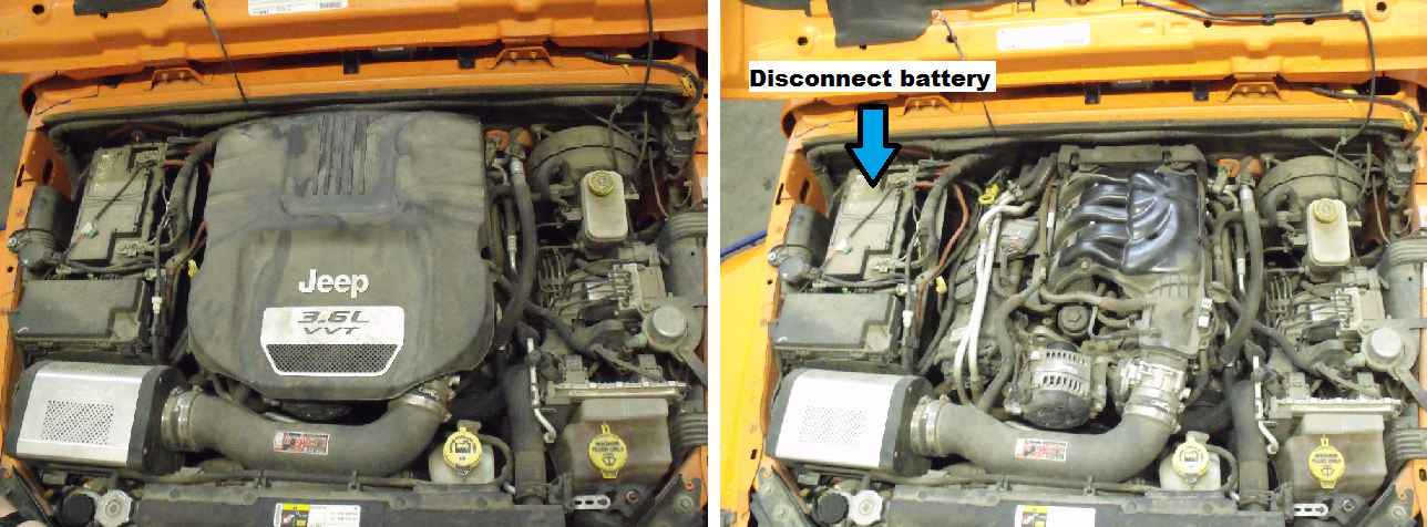 Jeep Wrangler JK 2007 to 2015 How to Replace Spark Plugs - Jk-Forum