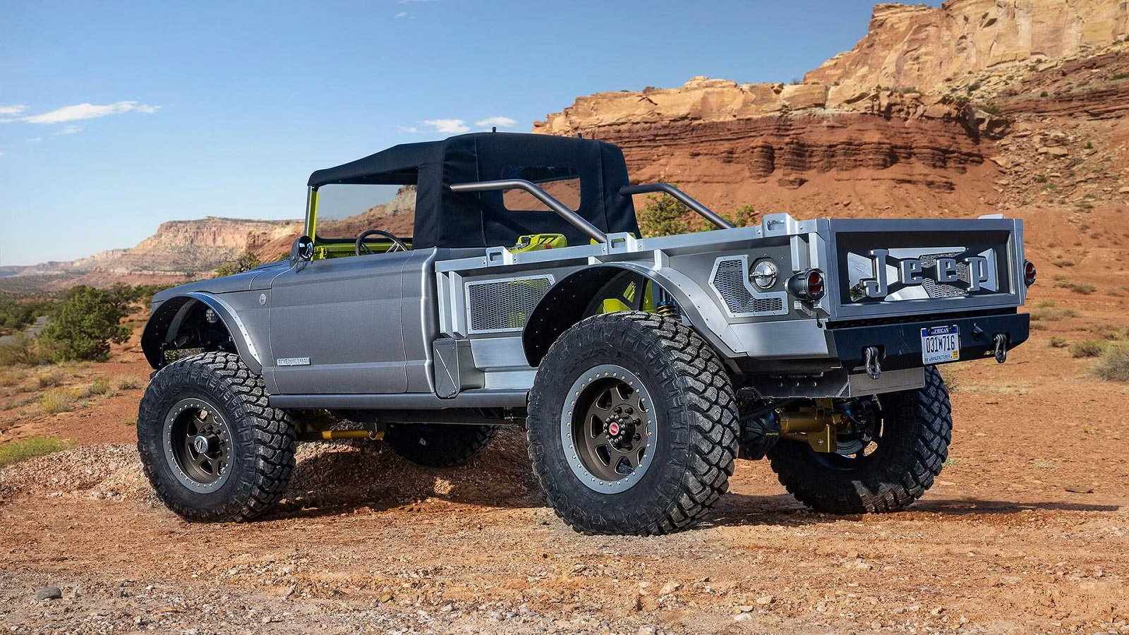 M-715 Five Quarter is a 700HP Convertible Beast