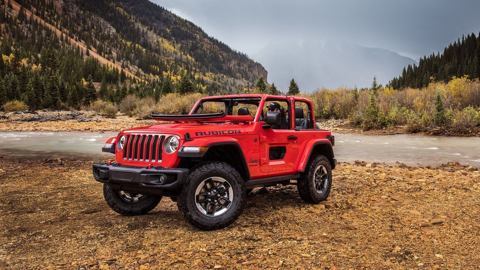 Soft-top Rubicon Spied Out