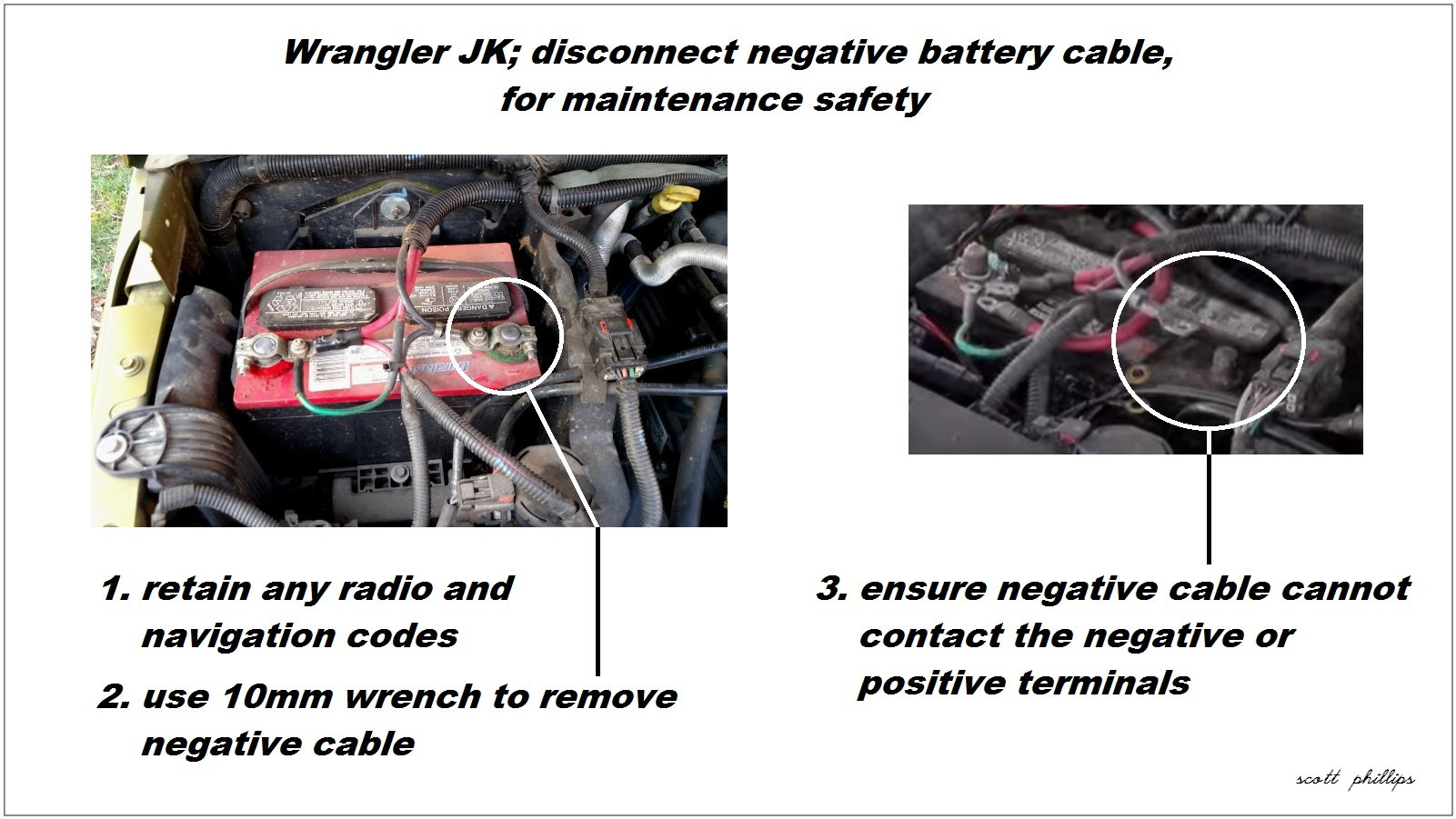 Wranglerjk Disconnectnegativebatterycable on Jeep Wrangler Crankshaft Position Sensor Location