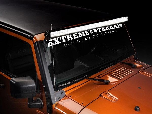 Jeep wrangler jk 2007 to present led light bar review and how to raxiom led light bar swarovskicordoba Image collections