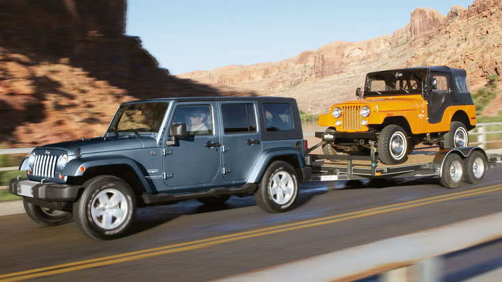 Jeep Wrangler JK 2007 to 2015 Towing and Hauling General ...
