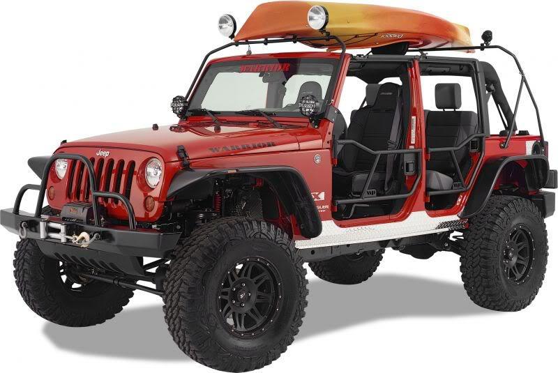 Jeep Wrangler Jk 2007 To Present How To Install Canoe