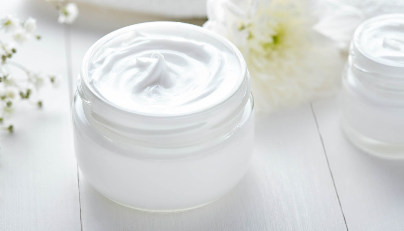 jar of moisturizer