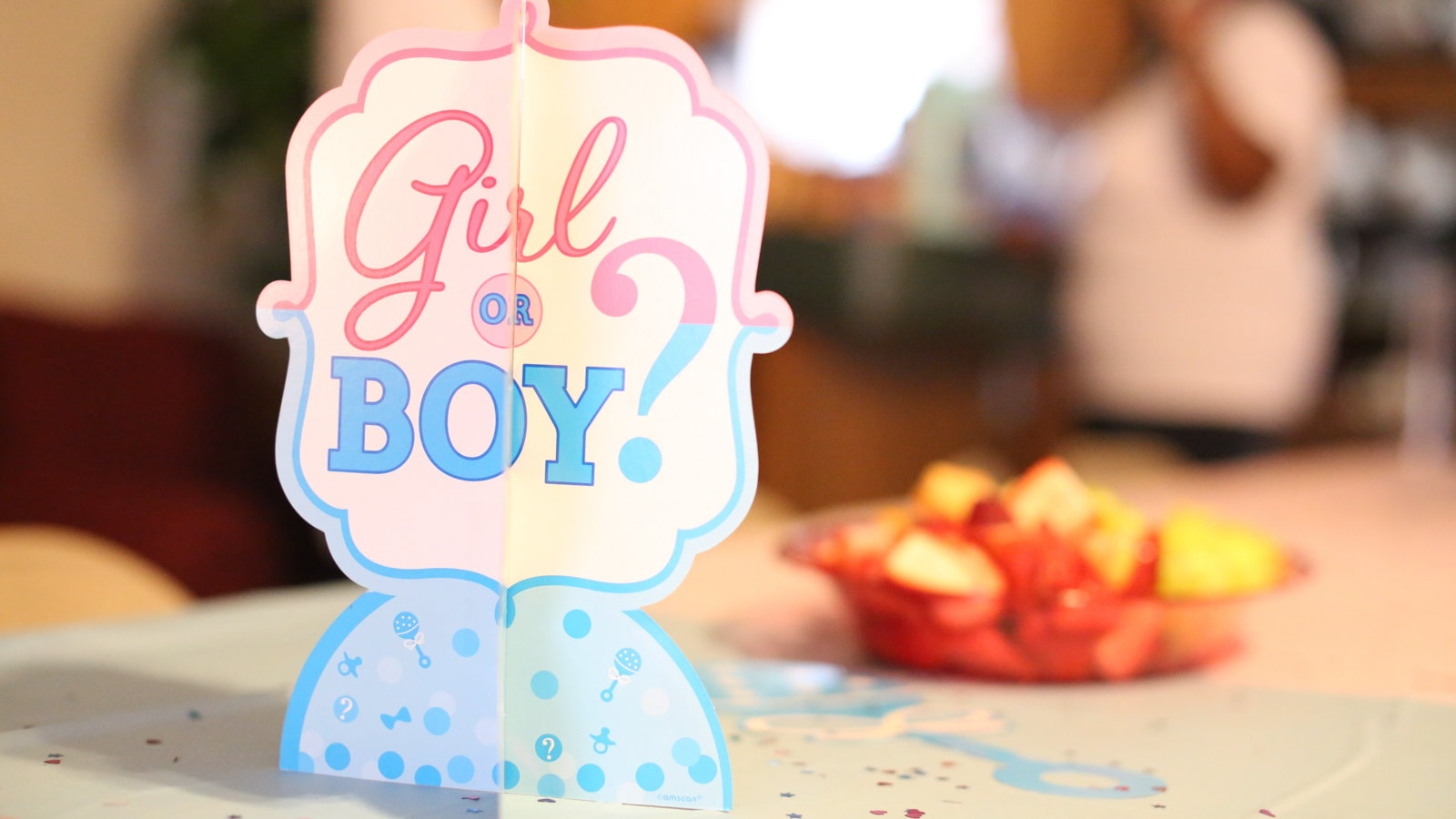 boy or girl decoration
