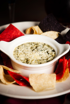 spinach artichoke dip easy holiday appetizers