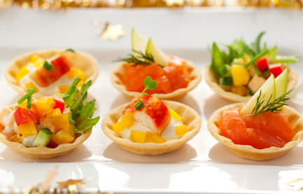 filled tartlets easy holiday appetizers