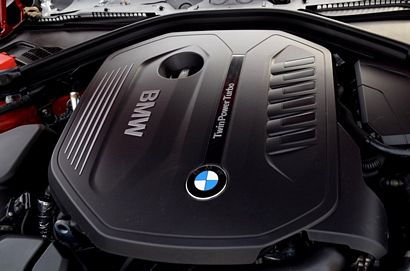BMW's B58 3.0L DOHC turbocharged I-6 (340i)
