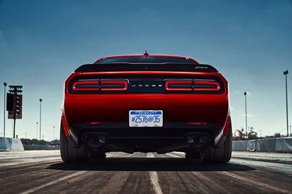 2018 Dodge Challenger SRT Demon widebody