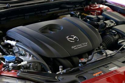 2017 Mazda6 2.5-liter, 184-horsepower Skyactiv inline-4