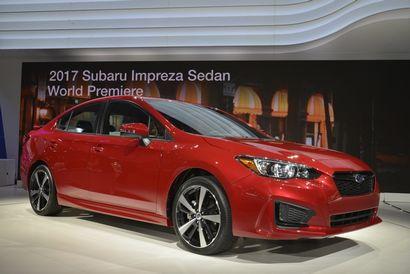 2017 Subaru Impreza front 3/4 view