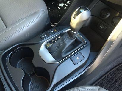2016 Hyundai Santa Fe Sport AWD 2.0T shifter detail