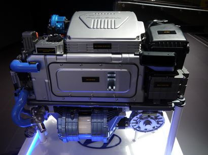 2015 Hyundai Tucson Fuel Cell motor and fuel cell stack