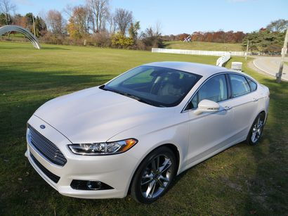 2014 Ford Fusion Titanium Awd Driving Impressions Lotpro